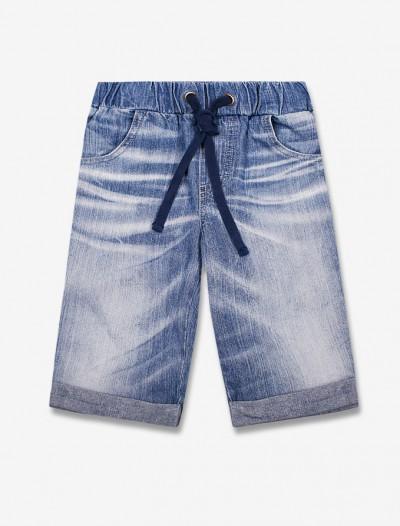 Джинсовы шорты с винтажным эффектом Глория Джинс