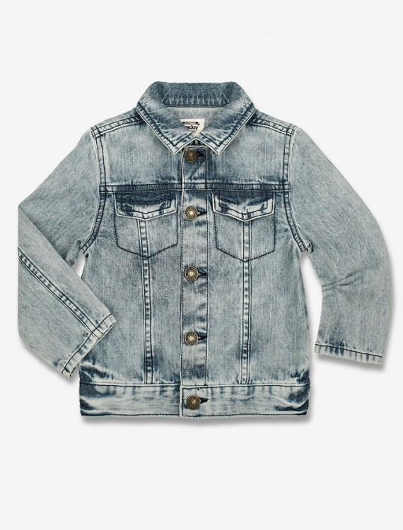 Джинсовая куртка с нагрудными карманами Глория Джинс