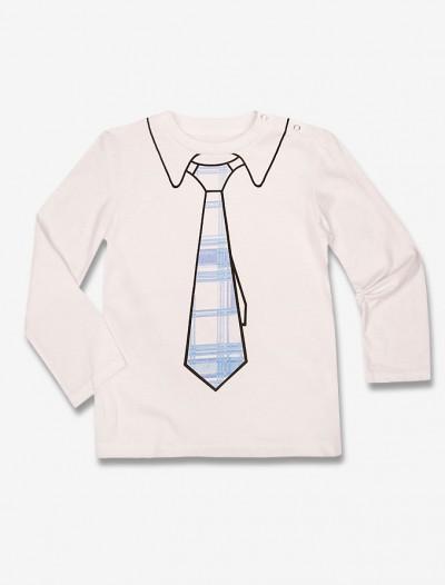 Джемпер с принтом-галстуком Глория Джинс