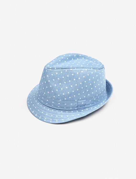Винтажная шляпа из денима Глория Джинс