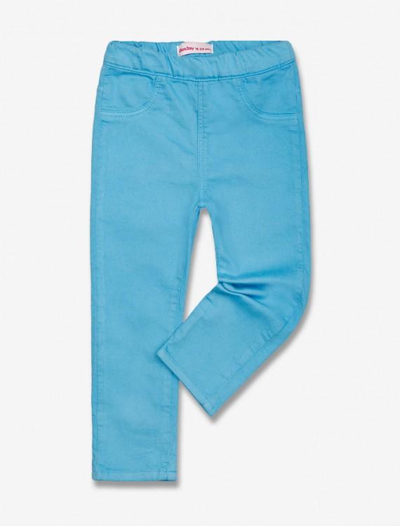 Брюки насыщенного голубого цвета Глория Джинс