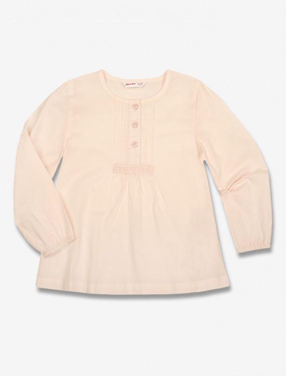 Блузка нежного цвета Глория Джинс