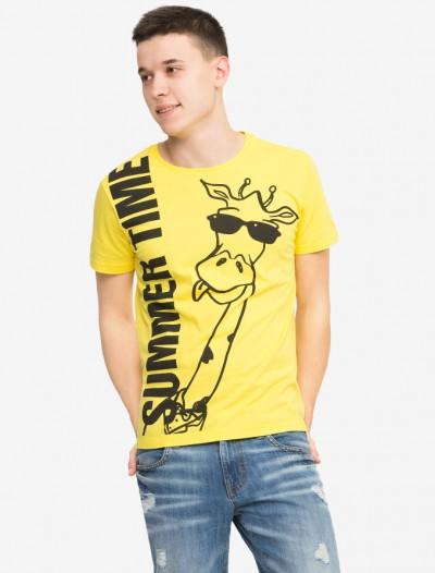 Яркая футболка с рисунком Глория Джинс