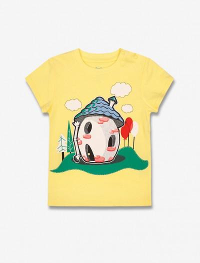Яркая футболка с принтом Глория Джинс