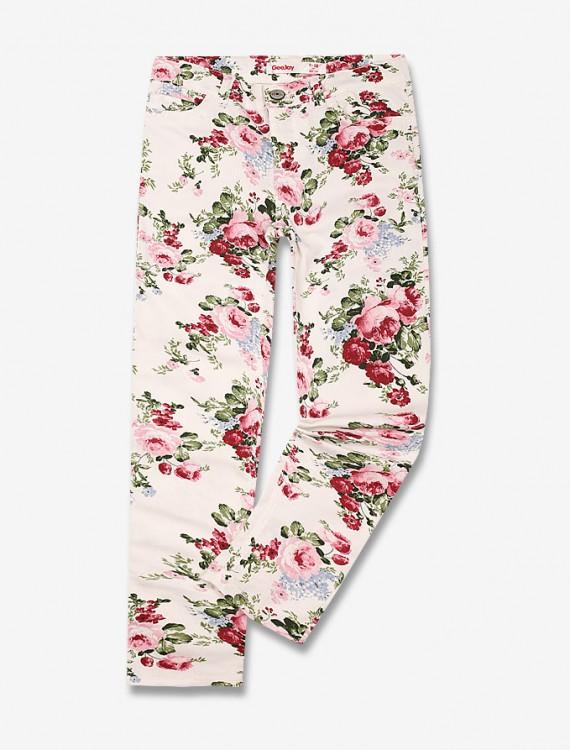 Цветочные брюки Глория Джинс