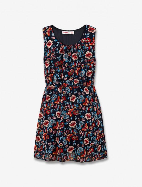 Цветочное платье Глория Джинс