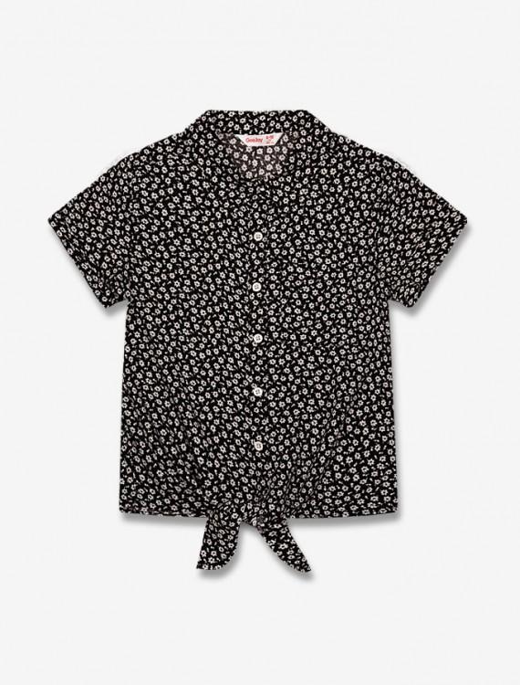 Цветочная рубашка Глория Джинс