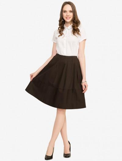 Хлопковая удлиненная юбка Глория Джинс