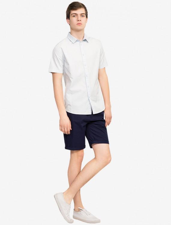 Хлопковая сорочка с коротким рукавом Глория Джинс
