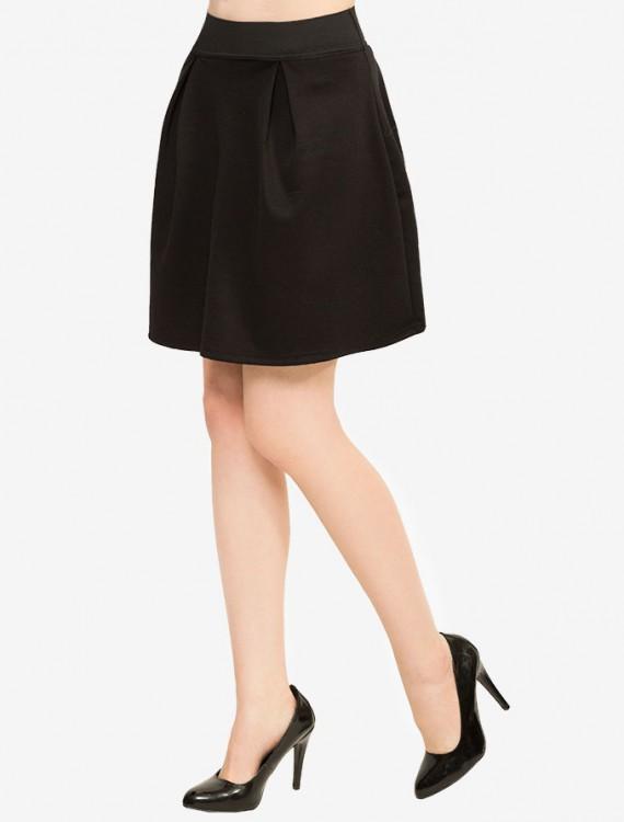 Трикотажная юбка с эластичным поясом Глория Джинс