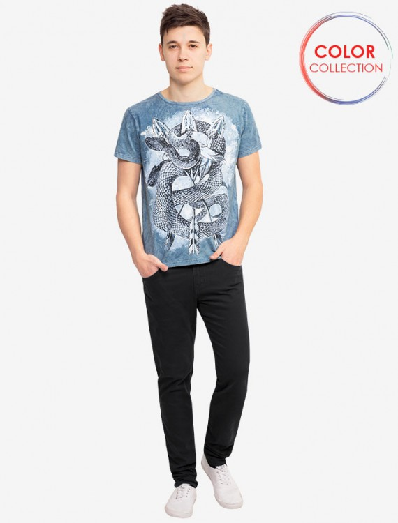 Твиловые брюки угольного цвета Глория Джинс