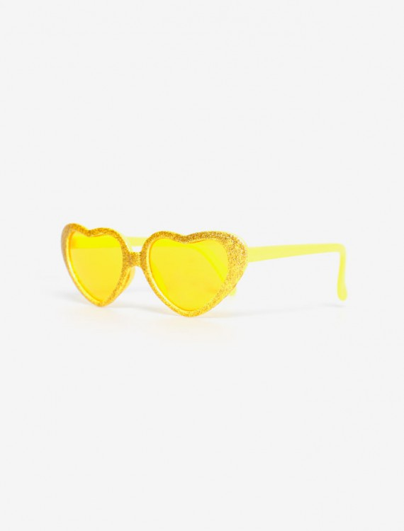 Солнцезащитные очки с оправой-сердечком Глория Джинс