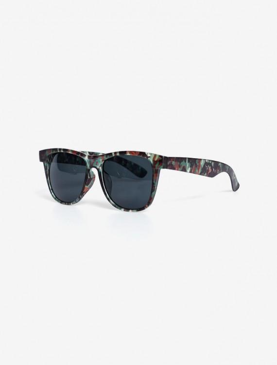 Солнцезащитные очки в оправе цвета хаки Глория Джинс
