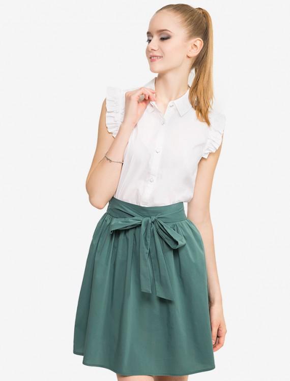 Рубашка с рукавами-крылышками Глория Джинс