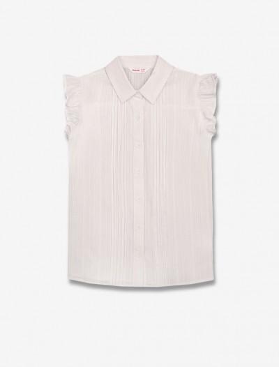 Рубашка с рукавами-воланами Глория Джинс