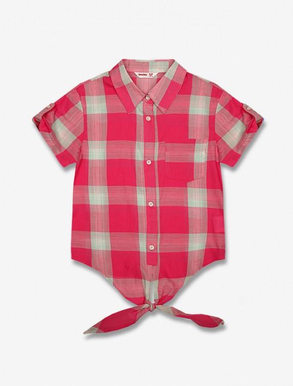 Рубашка с завязками Глория Джинс