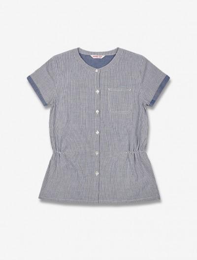 Рубашка в полоску Глория Джинс