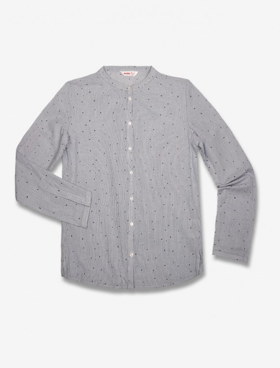 Рубашка в крапинку Глория Джинс