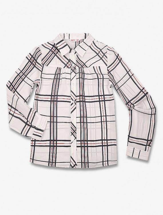 Рубашка в клетку Глория Джинс