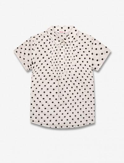 Рубашка в горох Глория Джинс