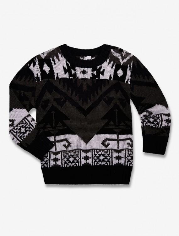 Пуловер с рисунком Глория Джинс