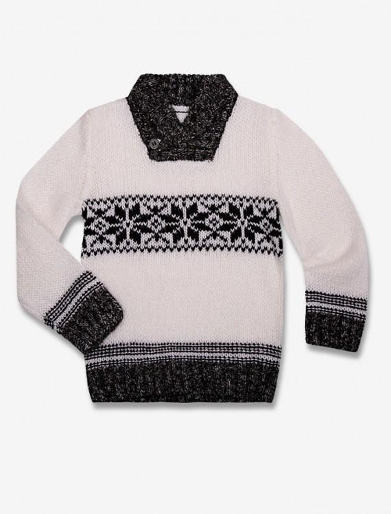 Пуловер с жаккардовым рисунком Глория Джинс