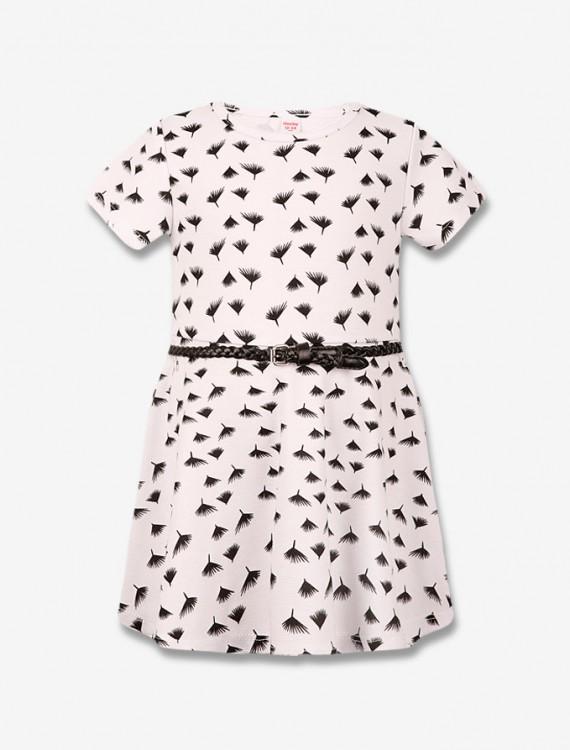 Приталенное платье с ремнем Глория Джинс
