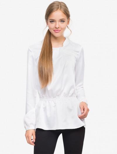 Приталенная блузка с длинным рукавом Глория Джинс