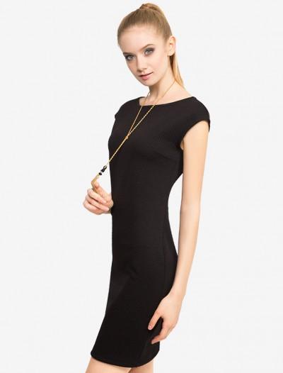 Платье-футляр из стеганого трикотажа Глория Джинс