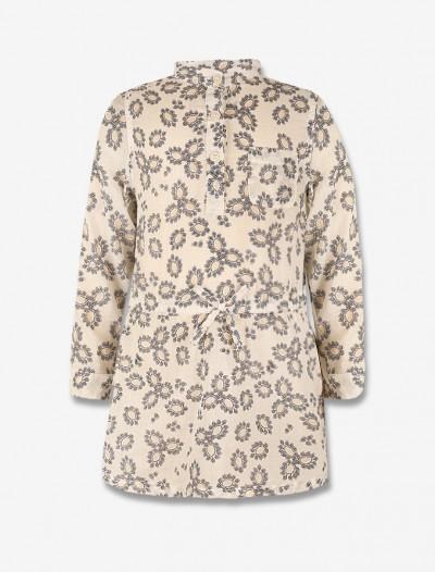 Платье-рубашка с узором Глория Джинс