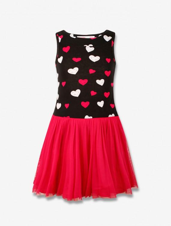 Платье с яркой юбкой Глория Джинс