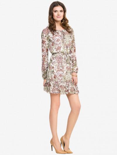 Платье с этническим узором Глория Джинс