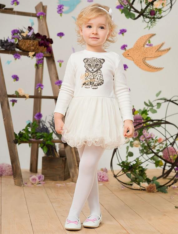 Платье с шифоновой юбкой Глория Джинс