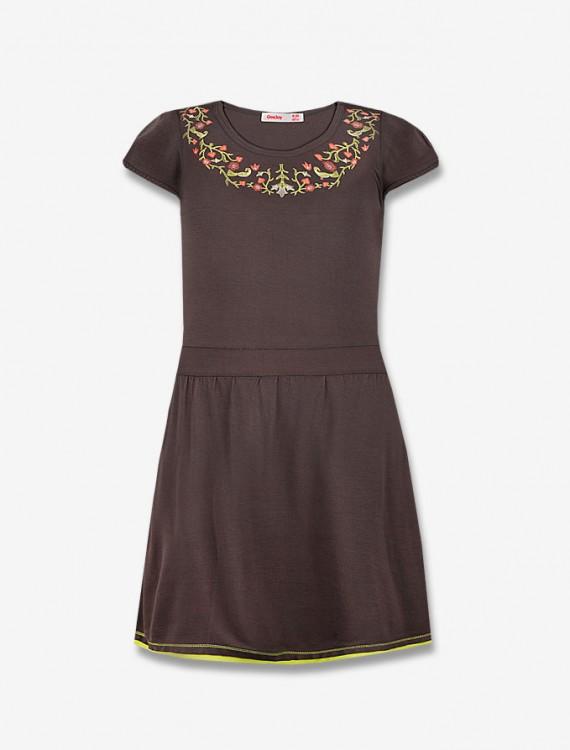 Платье с цветочным орнаментом Глория Джинс