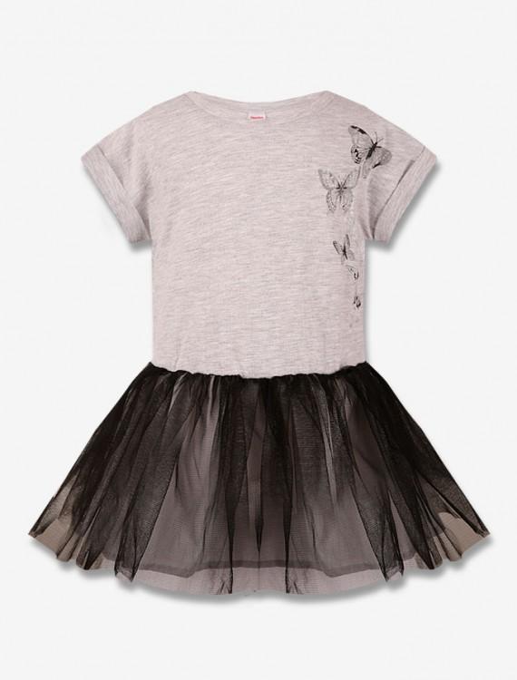 Платье с фатиновой юбкой Глория Джинс