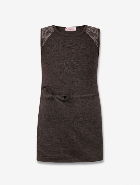 Платье с кружевными вставками Глория Джинс