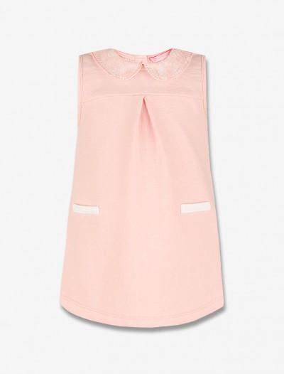 Платье с кружевным воротничком Глория Джинс