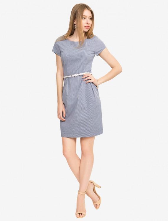 Платье с кожаным ремешком Глория Джинс