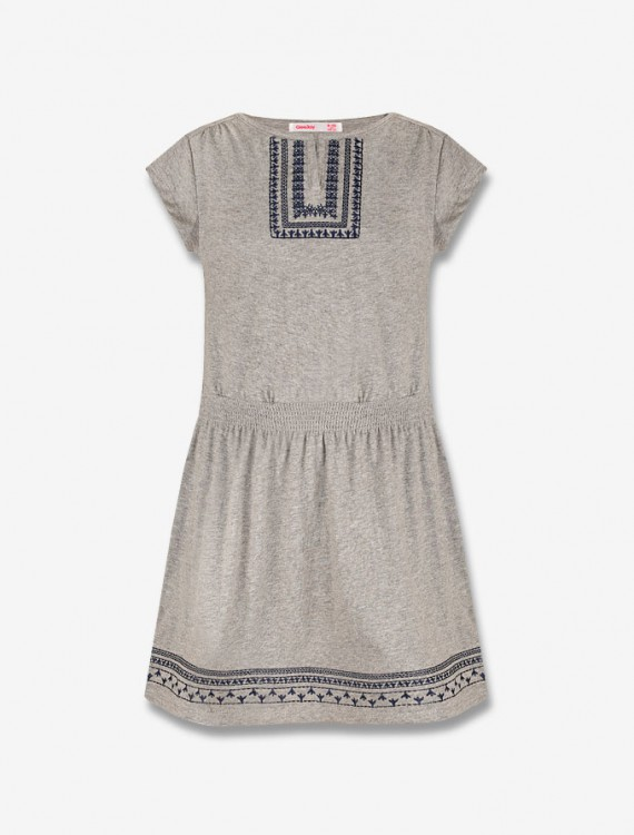 Платье с вышивкой Глория Джинс