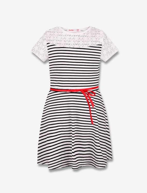 Платье в полоску Глория Джинс