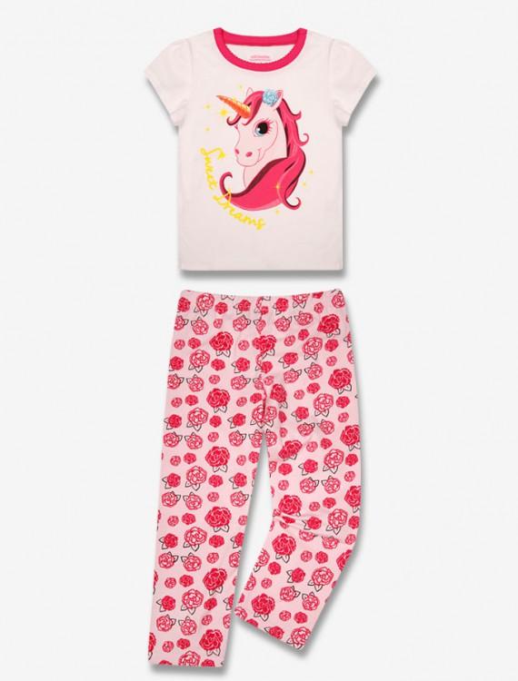 Пижама с ярким принтом Глория Джинс