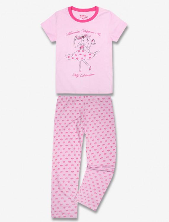 Пижама с коротким рукавом Глория Джинс