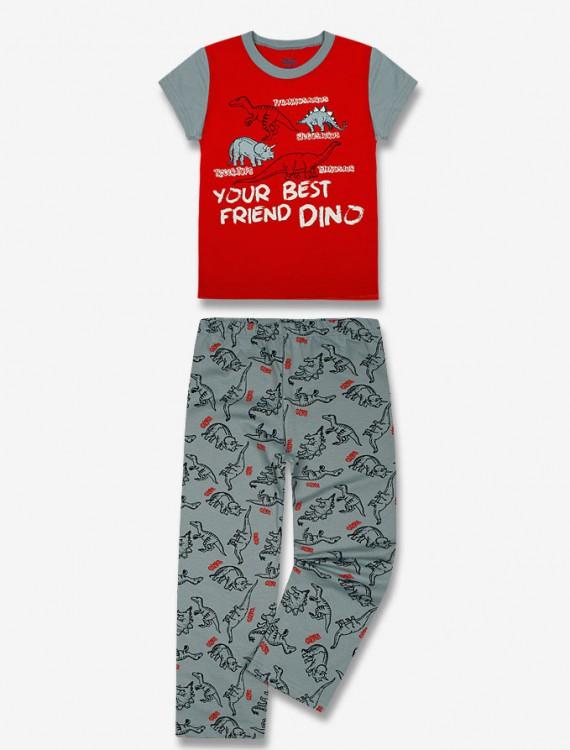 Пижама с контрастным принтом Глория Джинс