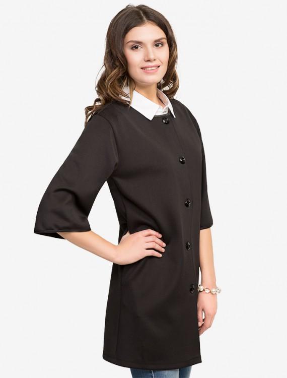 Пальто из ткани Scuba Глория Джинс