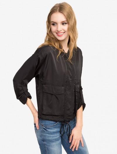 Легкая куртка с накладными карманами Глория Джинс