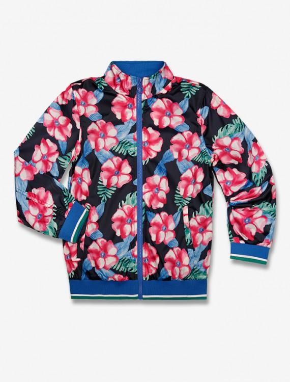 Куртка с цветочным принтом Глория Джинс