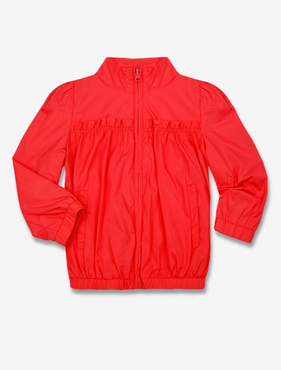 Куртка насыщенного цвета Глория Джинс
