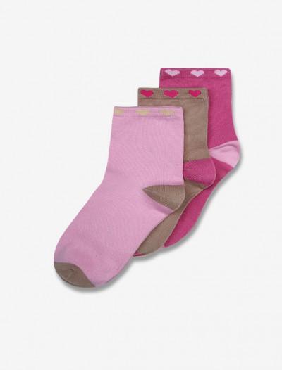 Комплект ярких носков с принтом Глория Джинс