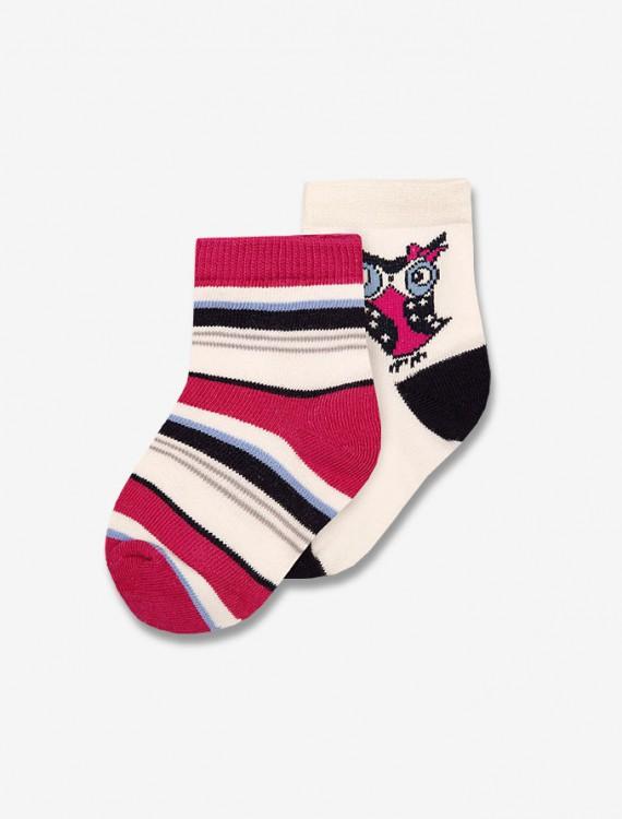 Комплект разноцветных носочков Глория Джинс